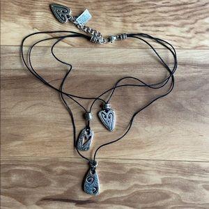 Brighton Brazilian Multi Charm woman's Necklace